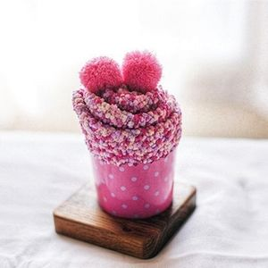 Strawberry Shortcake Cozy Cup Cake Cotton Socks